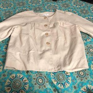 Calvin Klein dark cream light jacket